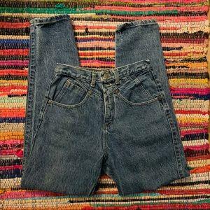vintage 80's zena denim mom jeans